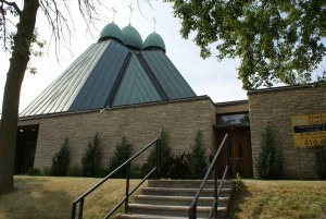 Church Hall Rental Entrance